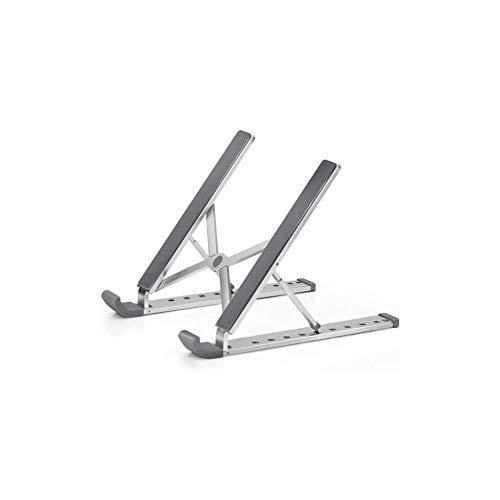 CXN Desktop Portable Laptop Holder Cooling Bracket Aluminum Alloy Adjustable Notebook Stand Foldable Laptop Stand with 12' - 17' Macbook, Ipad, Notebook Riser