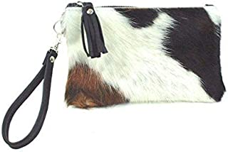 cow hair clutch