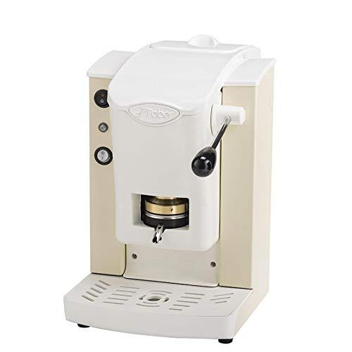 FABER SLOT PLAST MACCHINA CAFFE ESPRESSO CIALDE -100% MADE IN ITALY- 6 COLORI PLASTICHE BIANCO (AVORIO)+ 15 CIALDE EMOZIONI QUOTIDIANE