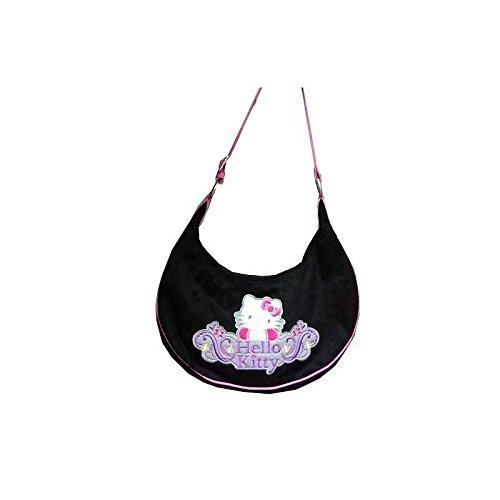 Hello Kitty - SAC HELLO KITTY LUNE noir