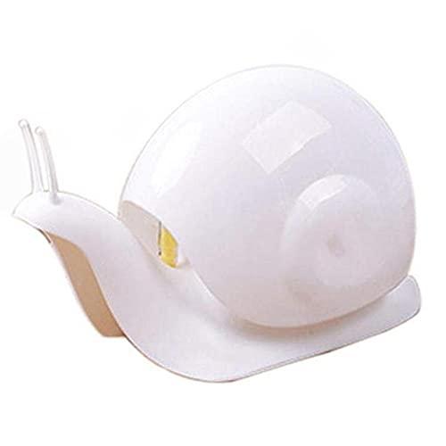 MONTA Dispensador de jabón líquido 120 ml dispensador de jabón de mano botella para champú contenedor accesorios de baño caracol regalo animal para niño