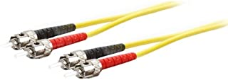 Addon ADD-ST-ST-5M9SMF 5m Single-Mode fiber (SMF) Duplex ST/ST OS1 Yellow Patch Cable - Fiber Optic for Network Device - 5...
