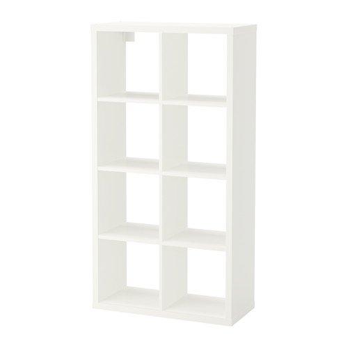 Ikea Billy FLYSTA regał regałowy biały pakiet z filcami 392.177.44