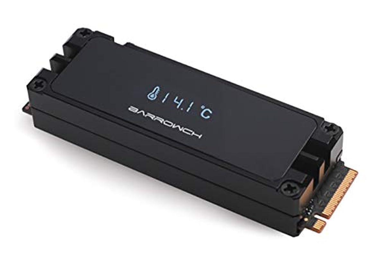 Barrowch M.2 2280/22110 Full Aluminum Alloy Digital Display heatsink