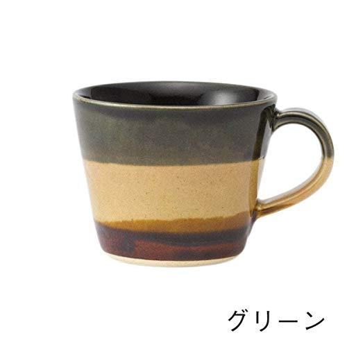 KEYUCA(ケユカ) 日本製 美濃焼 朝霧 カップ [170ml] ブラウン