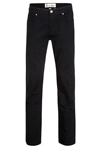 Tantum O.N. authentic Schwarze Classic-Jeans Clint Stretch für Herren schwarz,W34L32