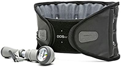 DDS G2 Lumbar Decompression Belt - 3-XLarge (Pneumatic Air Back brace, Back pain relief for Sciatica, Herniated disc, Pinched nerves, Stenosis, Degenerative Disc, Lumbar Traction)
