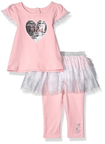 Juicy Couture Baby Girls 2 Pieces Skegging Set