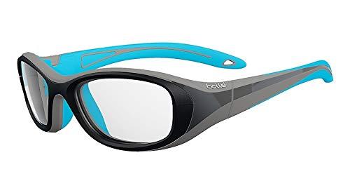 bollé Coverage Gafas de Sol Juventud Unisex Black & Blue Medium