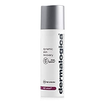 Dermalogica Dynamic Skin Recovery SPF50  1.7 Fl Oz  Anti-Aging Face Sunscreen Moisturizer Medium-Weight Non-Greasy Broad Spectrum to Protect Against UVA and UVB Rays