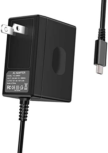 Switch Charger for Nintendo Switch Type C AC Adapter Fast Charging Portable Charger 15V 2 6A product image