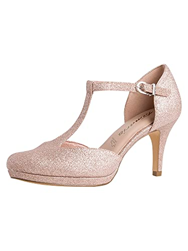 Tamaris Damen Pumps 1-1-24463-26 586 rosa schmal Größe: 41 EU