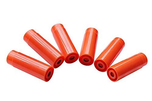 PPS M870 ガスショットガン シェルヘッド ファイバー ショットシェル (6個セット / オレンジ) // Tanaka G&P カートシェル 870-QAC-013