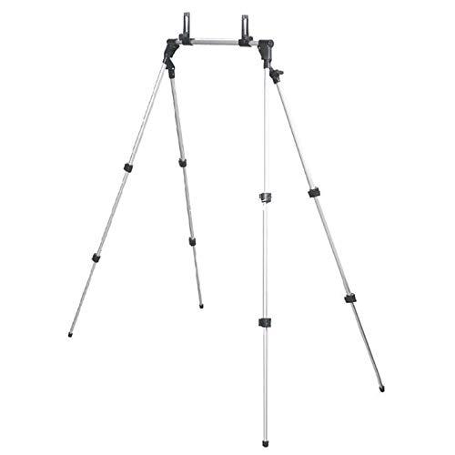 Fransande - Cama perezosa ajustable de menos de 12,9 pulgadas, escritorio plano, trípode, soporte de montaje de escritorio plegable, soporte para tablet