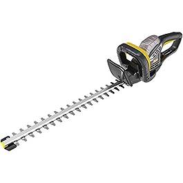 TECCPO Taille-Haie électrique 500 W, Lame de 510mm à Double Action, Capacité de Coupe 20mm, Système Anti-Blocage, TAHT02G