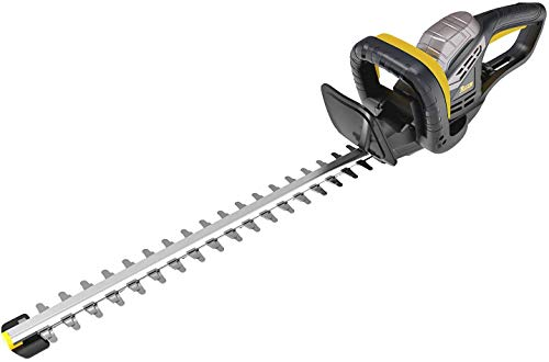 Taille-haies, TECCPO 500W Taille-haies électrique de lame 510mm, épaisseur de coupe 20mm, lame à...