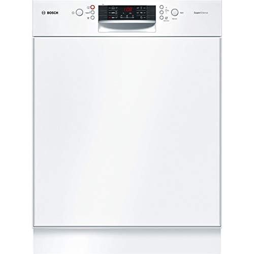 Bosch Elettrodomestici SMD46JW03E Lavastoviglie, 9.5 L, 44 Decibel, 13 Coperti, A++, Bianco