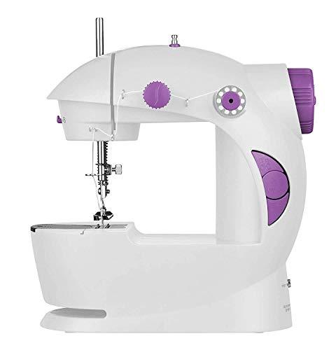 HOOK i Multi Electric Mini 4 in 1 Desktop Functional Household Sewing Machine, Mini Sewing Machine, Sewing Machine for Home Tailoring, Mini Sewing Machine for Home (Sewing Machine)