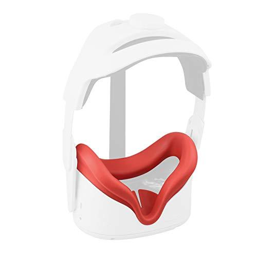 Elygo Cubierta Facial de Silicona VR para Auriculares Oculus Quest 2 VR...