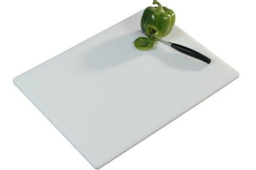 Kesper 30051 Tranchierbrett Kunststoff 51 x 38 x 1.2 cm, weiß