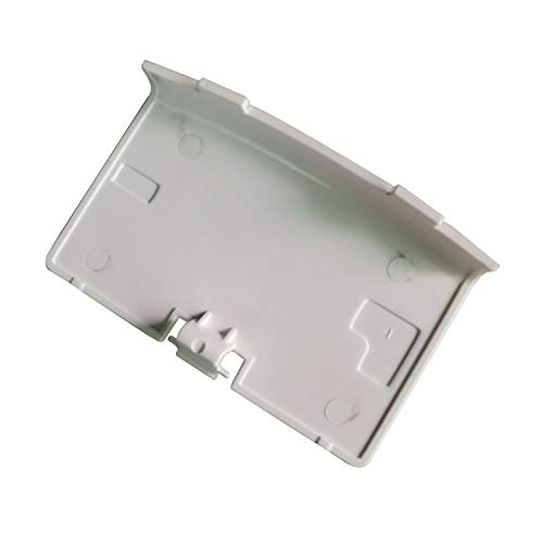 Timorn Replacement Battery Cover Case Repair Back Door Part for GBA Gameboy Advance (White)