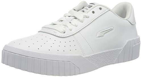 PUMA Cali Twist WnS, Zapatillas Mujer, Blanco White White Silver, 42 EU