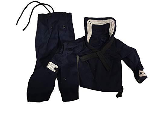 fat-catz-copy-catz Action Man GI Joe Poupée Vêtements AMÉRICAIN Noir Bleu Marine Militaire Seal Veste & Jeans/Pantalons Costume
