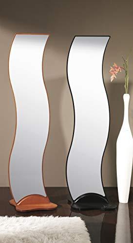 Herdasa - Espejo vestidor ondas con base 23 colores a escoger - Natural