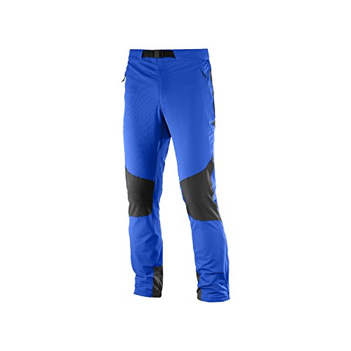 SALOMON Wayfarer Mountain M Pantalons Longs, Homme, Homme, Wayfarer Mountain M, Bleu (Surf The Web)