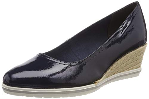 Tamaris Damen 1-1-22441-22 826 Pumps, Blau (Navy Patent 826), 39 EU