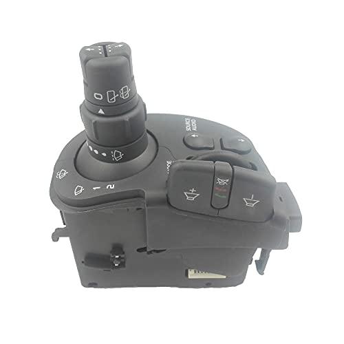 SFUO Interruptor de la Columna de dirección Radio Wiper Switch Fit for Renault Clio III Kangoo Modus 8201590631 7701068113 7701068114