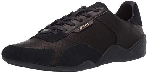 Lacoste Women's HAPONA 120 2 CFA Sneaker, Black/Black, 7 Medium US