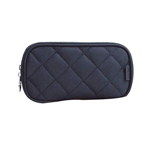 Ruijanjy 10 * 18 * 5cm Reise Multifunktionale Kosmetiktasche Clutch Bag Schwarz 1 Packung