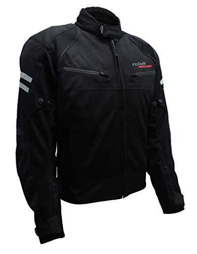 Roleff Racewear Mesh-Blouson RO 613, Schwarz, Größe XL