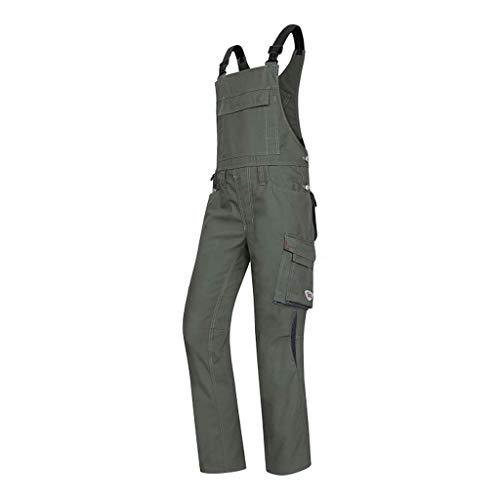 BP Shorts, Höhere Taille am Rücken, 225,00 g/m² Stoffmischung mit Stretch, oliv/schwarz ,60n