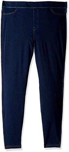 Denim /& Co How Timeless Petite 4-Pocket Jeggings Indigo 8P NEW A269678