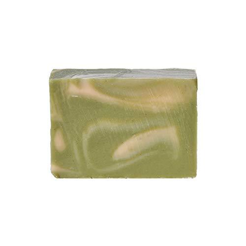Mijo GREEN WAVE Zitronengras Seife Lemongrass handgemachte Naturseife mit Bio Olivenöl, Sheabutter, ohne Palmöl ca. 100g
