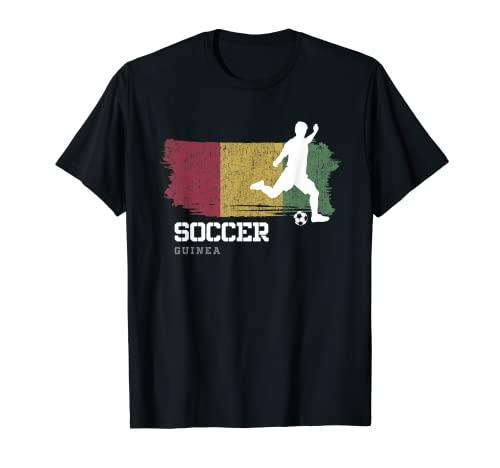 Fútbol Guinea Bandera Equipo de fútbol Jugador de fútbol Camiseta
