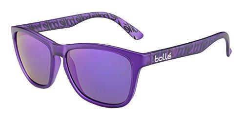 Bolle 473 Sunglasses, Matte Violet/Polarized Blue Oleo AR