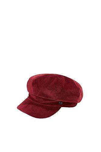 Esprit 090ea1p308 Gorro/Sombrero, 600/Burdeos Rojo, M para Mujer