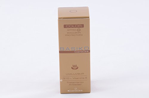 Basiko spf50+ emulsi color 50 ml