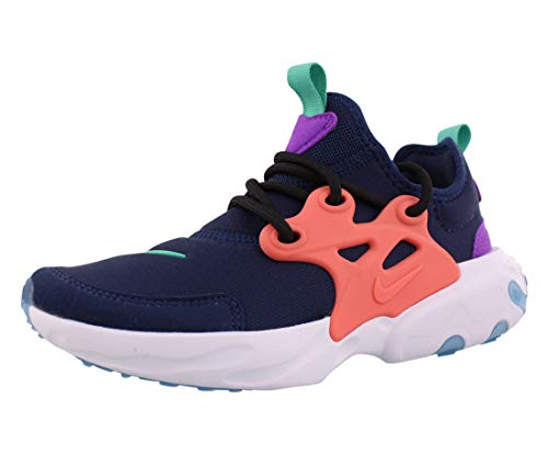 Nike Rt Presto Girls Shoes Size 2, Color: Midnight Navy/Kinetic Green/Pink
