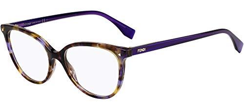Occhiali da vista Fendi FF 0351 Lilac Havana 53/16/140 donna