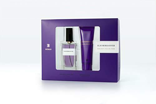 Elio Berhanyer - Bergamot, Praline y Musk Estuche de Regalo para Mujer, Eau de Parfum 100 ml y Body Lotion 100 ml
