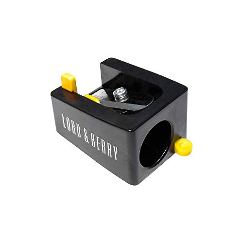 Lord & Berry JUMBO Makeup Cosmetic Pencil Sharpener, Easy To Clean