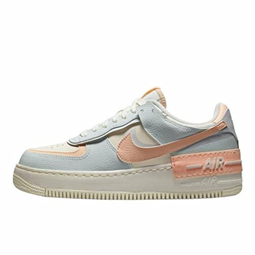 Nike Woman Air Force 1 Shadow Barley Green CU8591 104 (Numeric_38_Point_5)