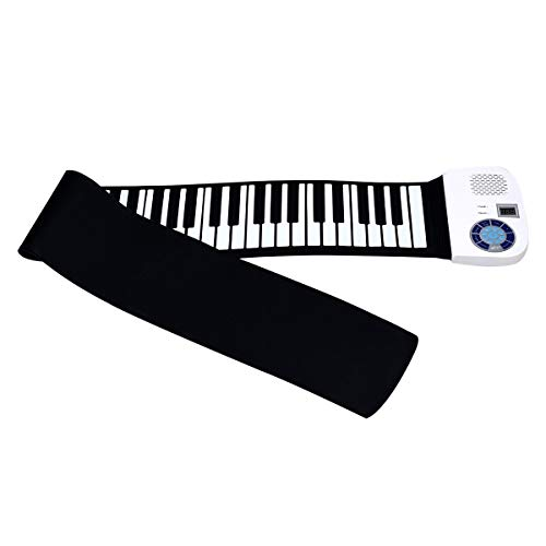 Review Of 88 Keys Midi Electronic Roll up Piano Silicone Keyboard (white)