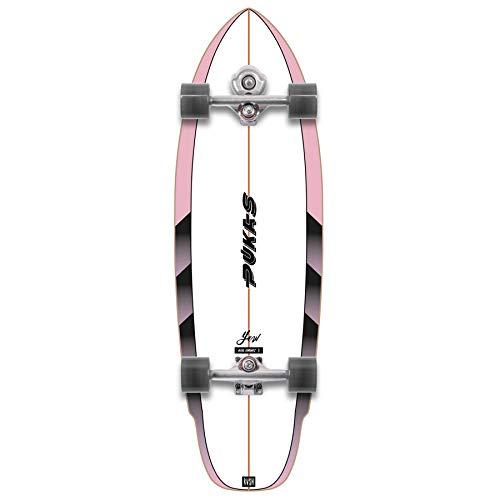 YOW Rvsh Pukas X - Skateboard da surf, 83,8 cm, multicolore