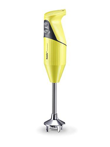 bamix - SwissLine, frullatore a Immersione in Acciaio Inossidabile, 12x 6x 35cm 12 x 6 x 35 cm Giallo