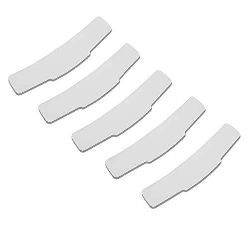 Grace Tab Collar for Clergy Shirt (Package of 5) White
